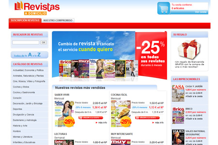 E-commerce Revistas